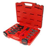 Набор ключей для шлицевых гаек 19-165мм JTC 4455