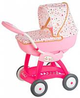 Коляска-люлька Baby Nurse, для пупсов до 42 см, Smoby Toys (251123)