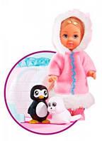 Кукольный набор Эви Друзья арктики, Steffi & Evi Love (573 2339)