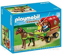 Конструктор Playmobil  Детский вагончик с пони 5228