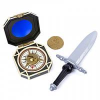 Кинжал Джека Воробья с компасом и дублоном, The Pirates of Caribbean (SM73104-2)
