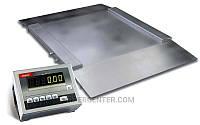 Платформенные весы(с пандусами) до 600 кг 4BDU600H ЭЛИТ 1500х1500 мм