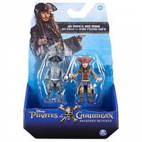Набор фигурок Джек Воробей и призрак, The Pirates of Caribbean (SM73101-4)
