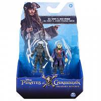 Набор фигурок Уил Тёрнер и призрак экипажа, The Pirates of Caribbean (SM73101-3)