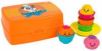 Веселые капкейки, развивающая игрушка-сортер, TOMY (T72546)