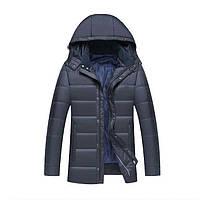 Зимняя мужская куртка с капюшоном. Модель 6323