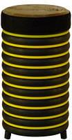 Барабан из натуральной кожи (31 × 17 см), желтый, Trommus (A2u)