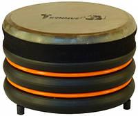 Барабан из натуральной кожи (18 × 28 см), оранжевый, Trommus (C1u)
