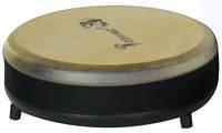 Низкий барабан из натуральной кожи (8,5 × 22 см), Trommus (H1)