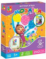 Маша и Медведь, мягкая фигурная мозаика (укр.), Vladi Toys (VT2301-16)