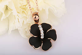Колье Black Orchid Swarovski