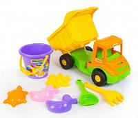 Multi truck грузовик с набором для песка 8 эл., Wader (39204)