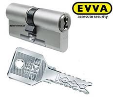 Цилиндр Evva 3KS 62мм.(31х31)ключ-ключ