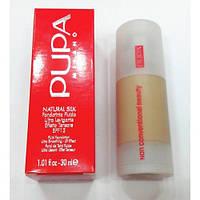 Тональный крем Pupa Natural Silk ( Пупа натурал силк)