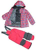 Зимний термо костюм для девочки  Perlim Pinpin арт VH236а 6 - 8 лет