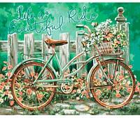Волшебная поездка, Серия Сельский пейзаж, рисование по номерам, 40 × 50 см, Идейка (КН2220)
