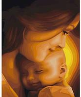 Счастье, Серия Дети, рисование по номерам, 40 × 50 см, Идейка (КН2308)