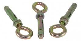 Болт анкерный с гайкой и O-крюком (SRTR-O)