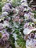 Гирлянда на свадебную арку(лилово-сиреневая), фото 2