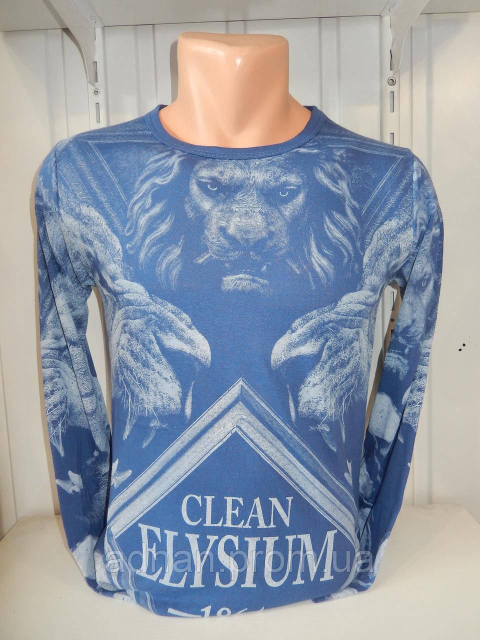 Футболка длинный рукав  lexsus, лев 004/ купить футболку  оптом, со склада