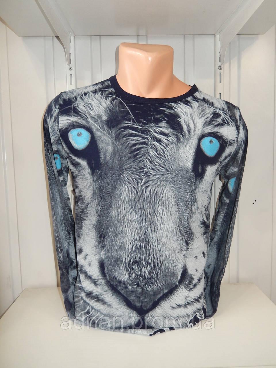 Футболка длинный рукав  lexsus, тигр 002/ купить футболку  оптом, со склада