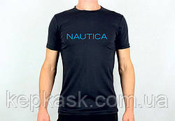 Футболка Nautica black-blue