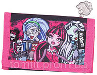 "Кошелек Monster High (малиновый), ТМ ""Kite"""
