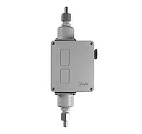 Дифференциальное реле давления Danfoss RT 262AL (-1 - 9 бар, 0.1-1.5 бар) 3/8 G