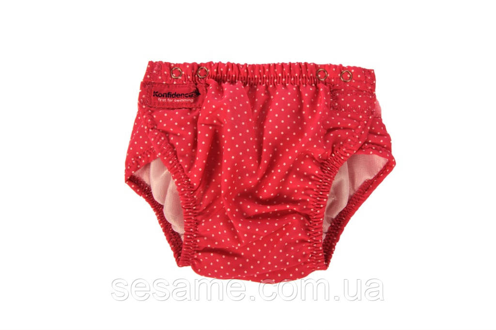Детские трусики для плавания Konfidence Aquanappies/Pink Polka Dot (OSSN06)