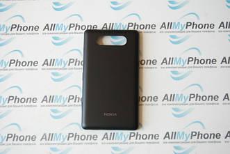Задняя панель корпуса для мобильного телефона Nokia 820 Lumia black