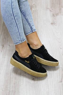 Женские замшевые кроссовки Puma