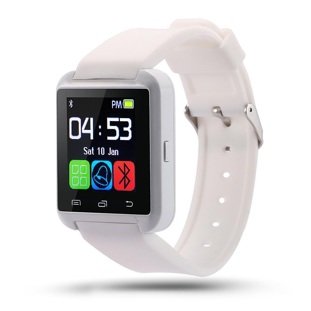 Умные часы Uwatch U8 белые Bluetooth Smart Android/IOS в коробке