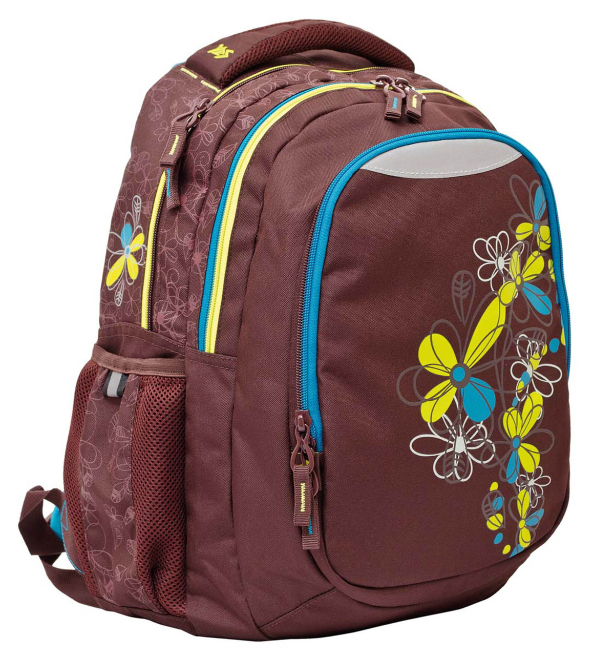 552654 Рюкзак подростковый YES Т-23 Flora 42*32*23