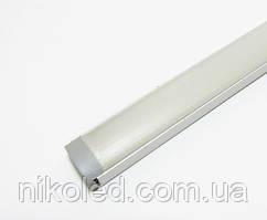 LED Профиль накладной с рассеивателем 15*6*2000 мм