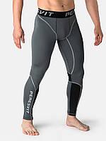 Компрессионные штаны Peresvit Air Motion Compression Leggings Heather Grey Black