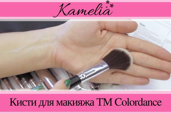 Кисти для макияжа ТМ Colordance