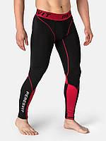 Компрессионные штаны Peresvit Air Motion Compression Leggings  Black Red