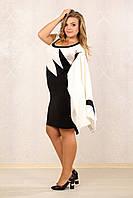 Черное платье 065 с жакетом 066
