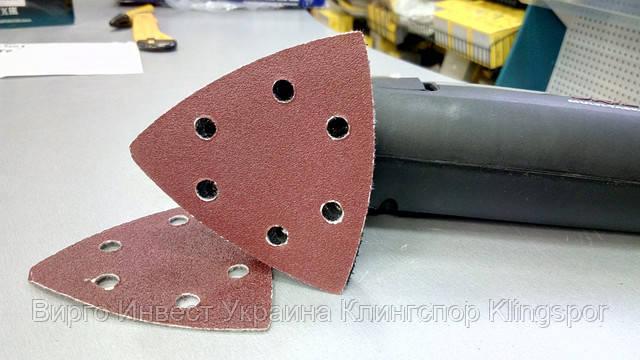 Klingspor шлифовальный лист треугольный