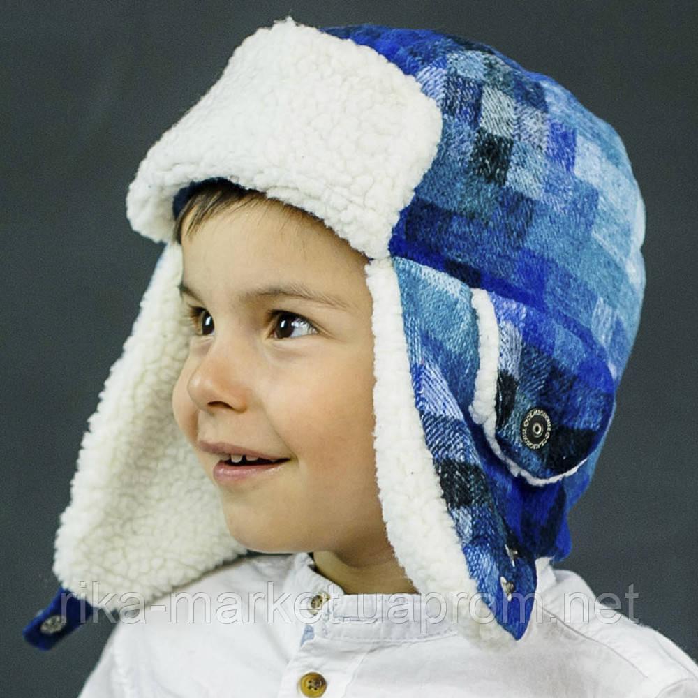 Набор зимний детский шапка и  варежки арт миллер