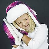 Набор зимний детский шапка и  варежки арт миллер, фото 2