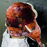 Набор зимний детский шапка и  варежки арт миллер, фото 3