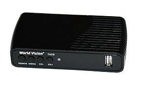 Цифровой эфирный приемник World Vision T62D DVB-T2