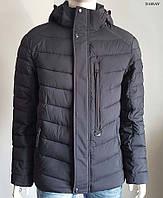 Мужская зимняя куртка Black Vinyl C17-936C