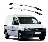 Рейлинги Volkswagen Caddy 2004-2015 с пластиковым креплением , фото 1