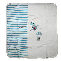 """Конверт-одеяло """"Babyline"""" арт.9-522 велюр, на кнопках,3 предмета"""