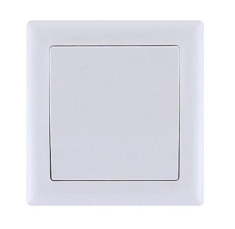 ВК01-00-0-ББ Выключатель 1кл серия BOLERO (белый) IEK