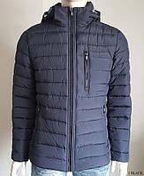 Мужская зимняя куртка Black Vinyl C17-978C