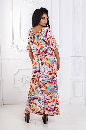 ДТ4013 Платье в пол  размеры 50-56, фото 2