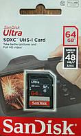 Карта памяти SDXC Sandisk UHS-1 64 гб класс 10